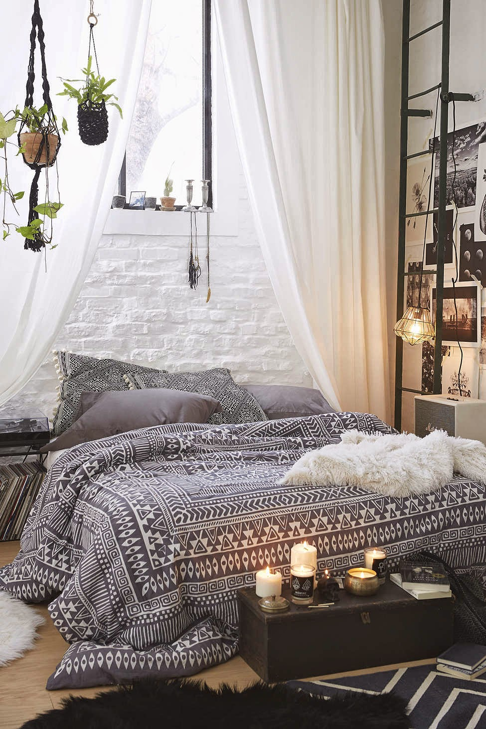 Bedroom inspiration - bedding and duvets | Neutral and light, dark and moody, colorful or filled with pattern... What is your favored style for the bedroom? Click through to read the full post on style inspiration for the bedroom.