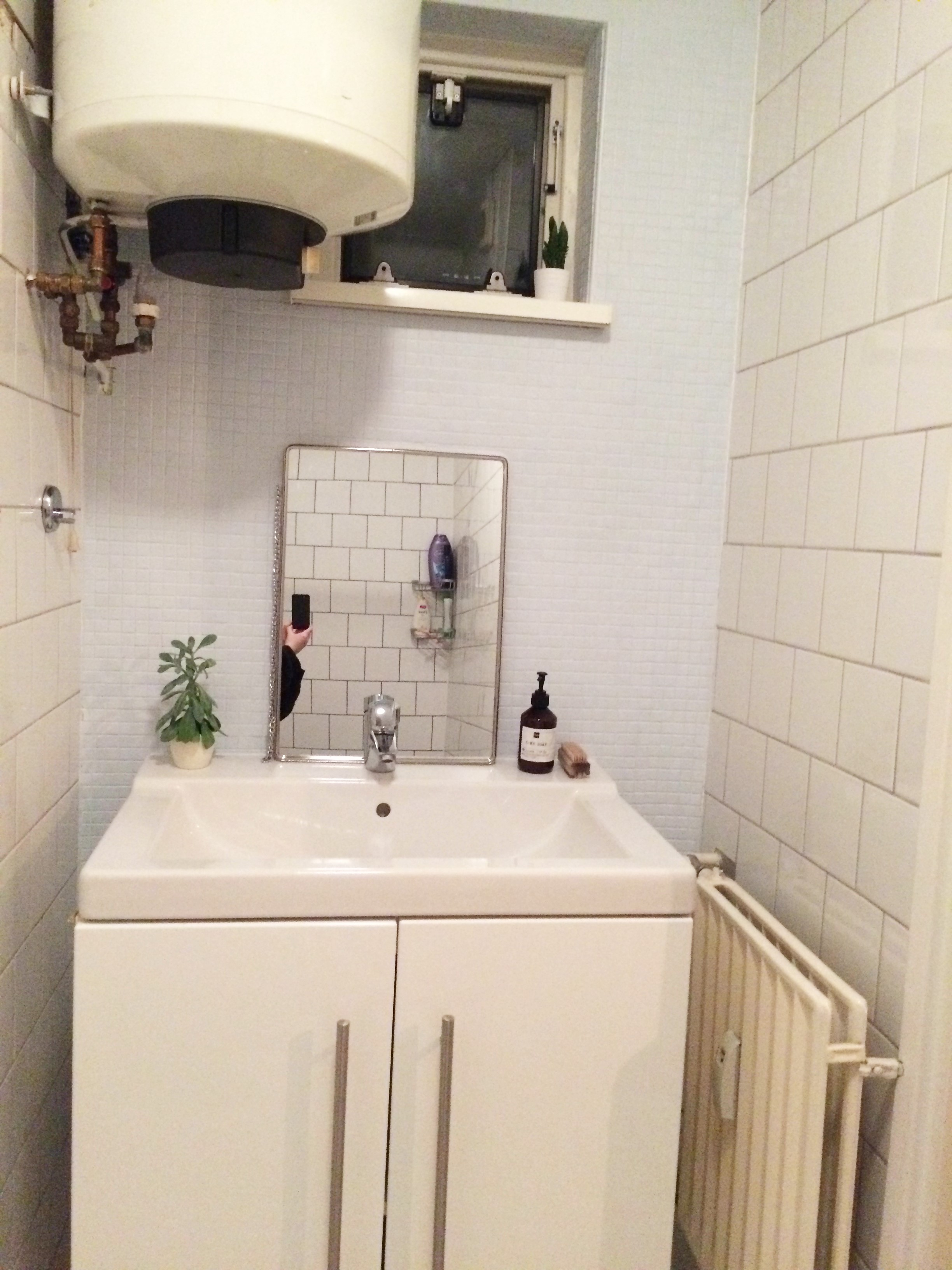 April recap: bathroom renovation - http://weirdatheart.com/april-recap/