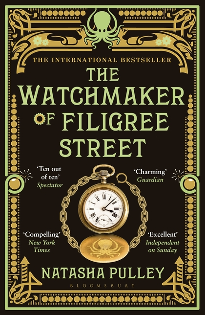 The Watchmaker of Filigree Street | Like historical fiction, magical realism and Victorian London with (a generous) dash of Japan? This book is for you! http://weirdatheart.com/book-review-the-watchmaker-of-filigree-street/