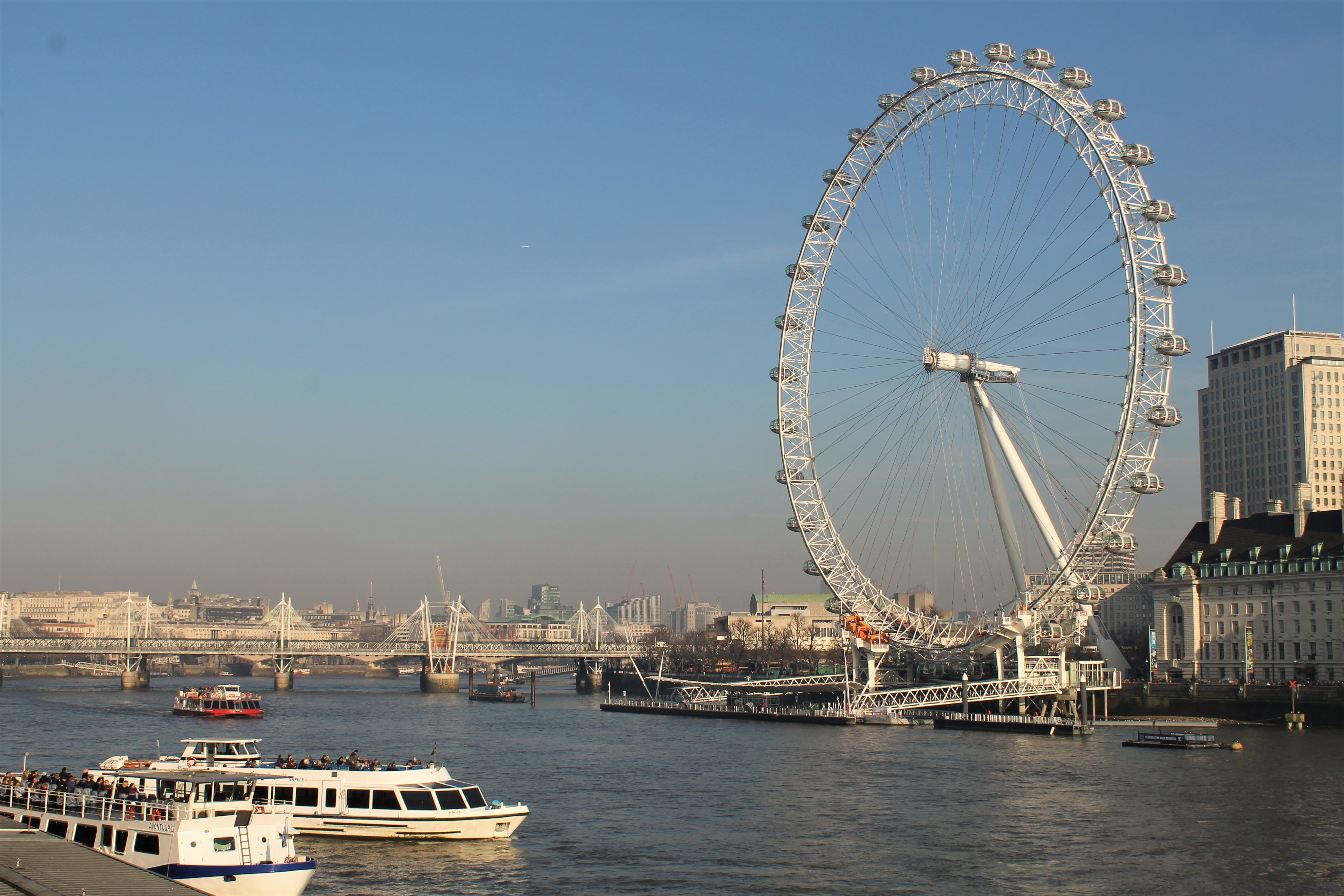 Surprise trip to London - London Eye | Weird at Heart